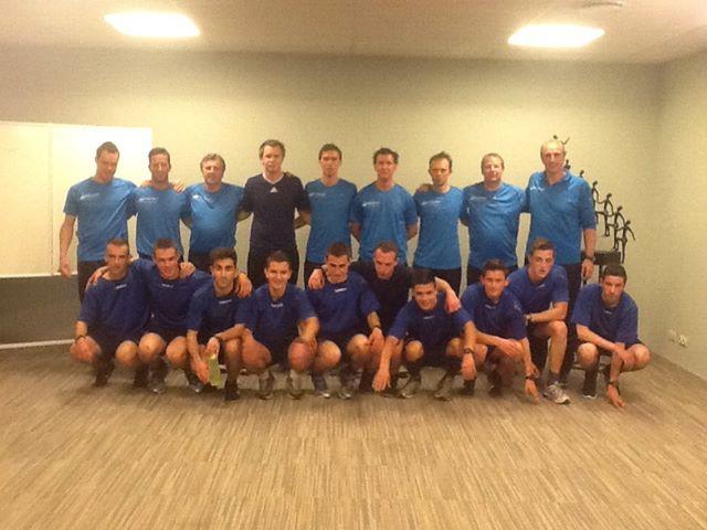 Onze FFCV Pro, editie 2013 met de belofte-spelers van Lommel Utd, ontbrekend op de foto : Bjorn Poels